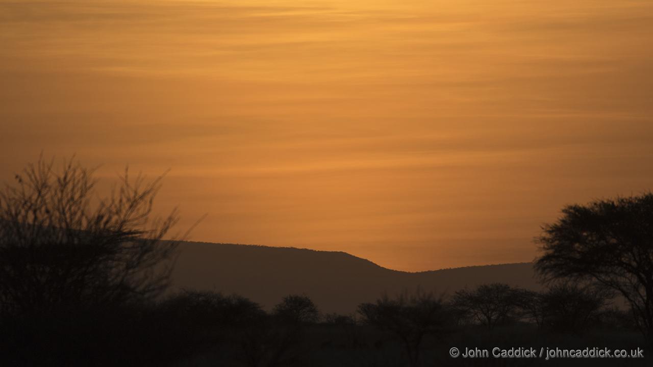 Sunset at Awash National Park